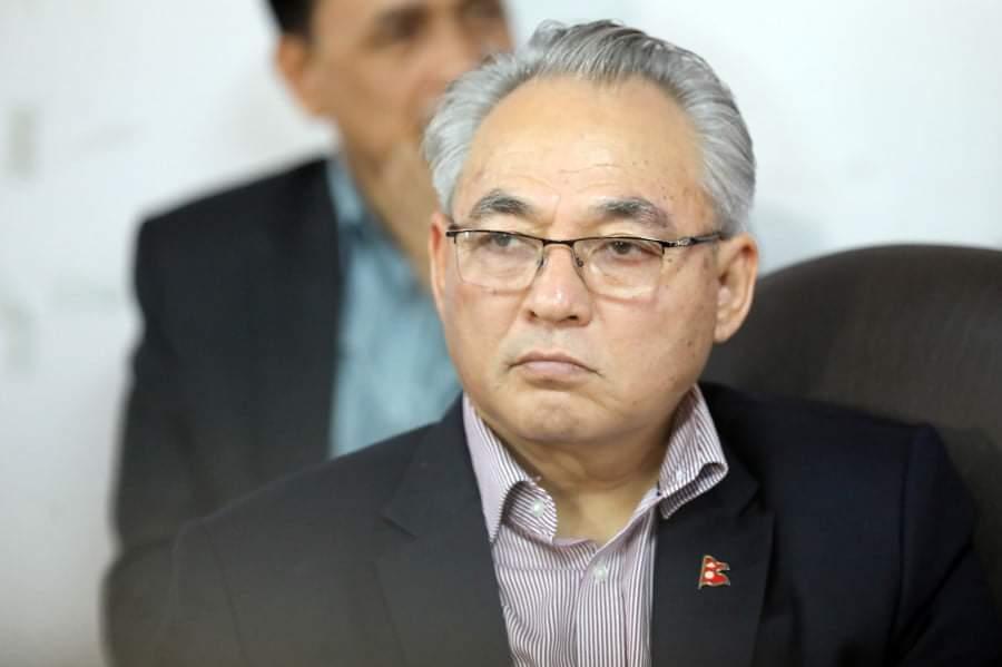 गृहमन्त्री थापा राष्ट्रिय सभा सदस्यबाट पदमुक्त